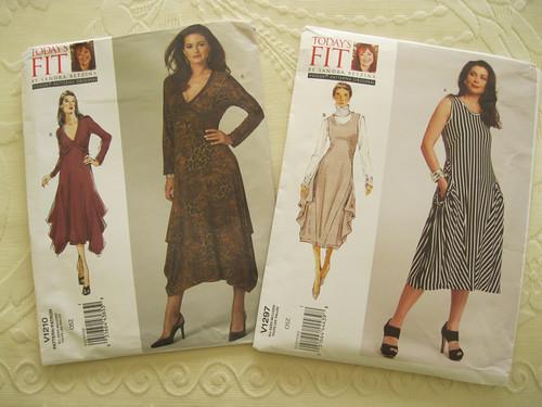 Vogue 1210 & 1297 dresses