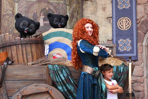 "Merida ""Brave"" meet-and-greet"
