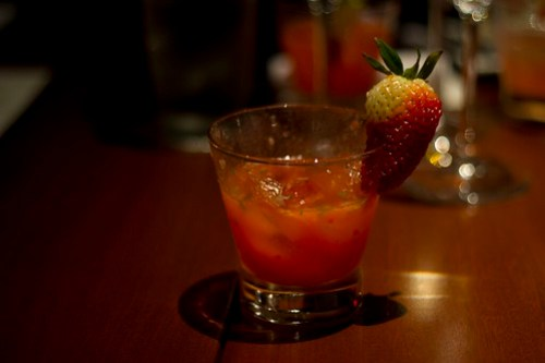 strawberry lemon cocktail