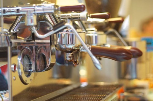 Coffee machine - the Jack of Harts and Jude, Engadine