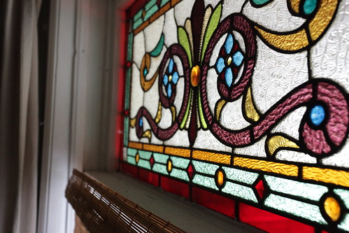 1st floor stained glass