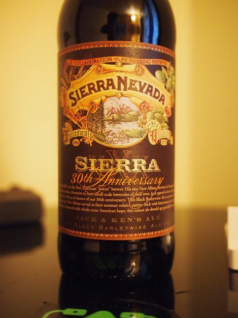 Sierra Nevada 30th Barley wine