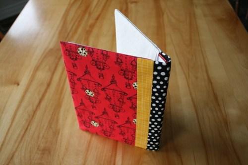 Ladybug Notebook Cover