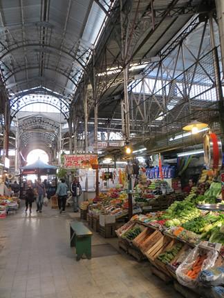 inside antique market