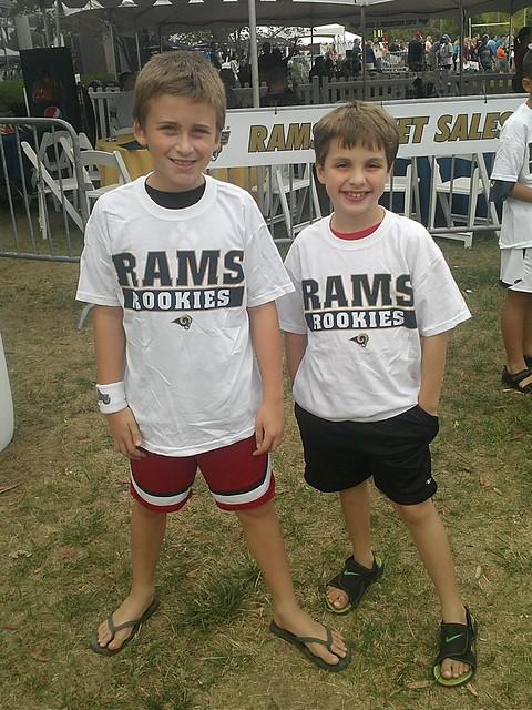 Rams camp