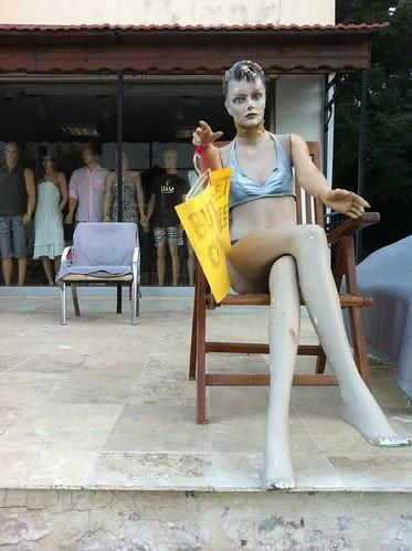 Zombie Beachwear by Simon Sharville