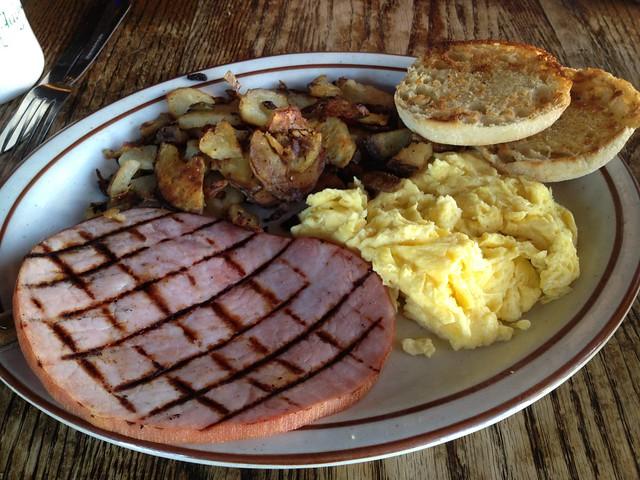 Ham and eggs - Big Ed's Alley Inn