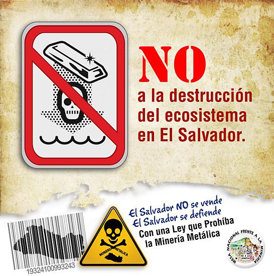 No a la destrucción