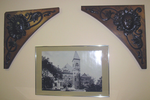 Old Library panels carved by Mittendorf