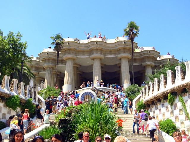 Park Güell- the staircase