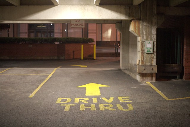 Uncle Sam Parking Garage, Troy NY