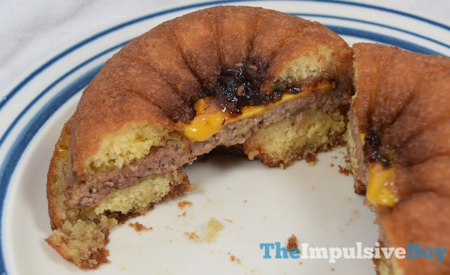 Great Value Late Night Cravings Donut Cheeseburger 3