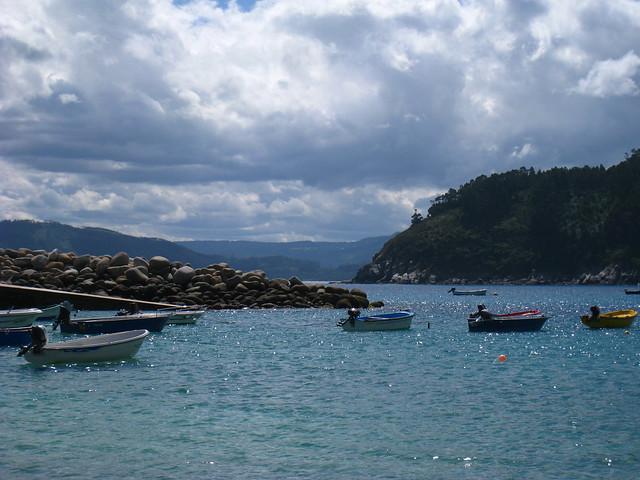 La playa de Porto de Bares