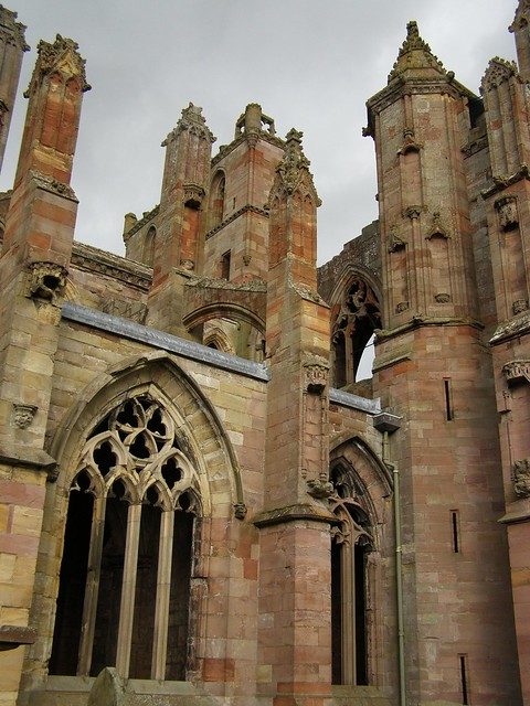 Melrose Abbey, Scotland