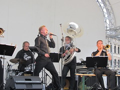 Femu Brass Band feat. Eero Saunamäki, photo: Simo Saunamäki