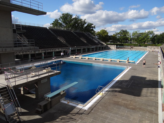 The Berlin 1936 Olympic Swim Stadium