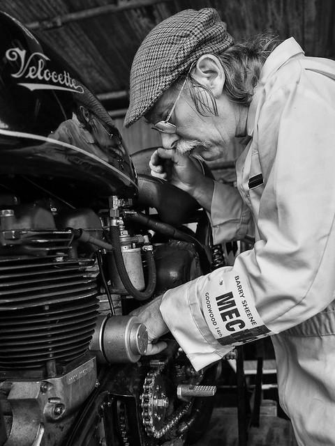 The bike mechanic
