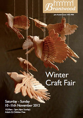 Brantwood Winter Craft Fair - fan birds