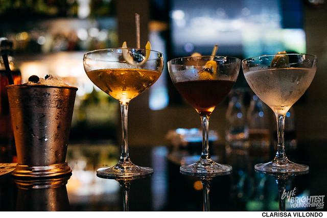 Bourbon Steak Presidential Cocktails
