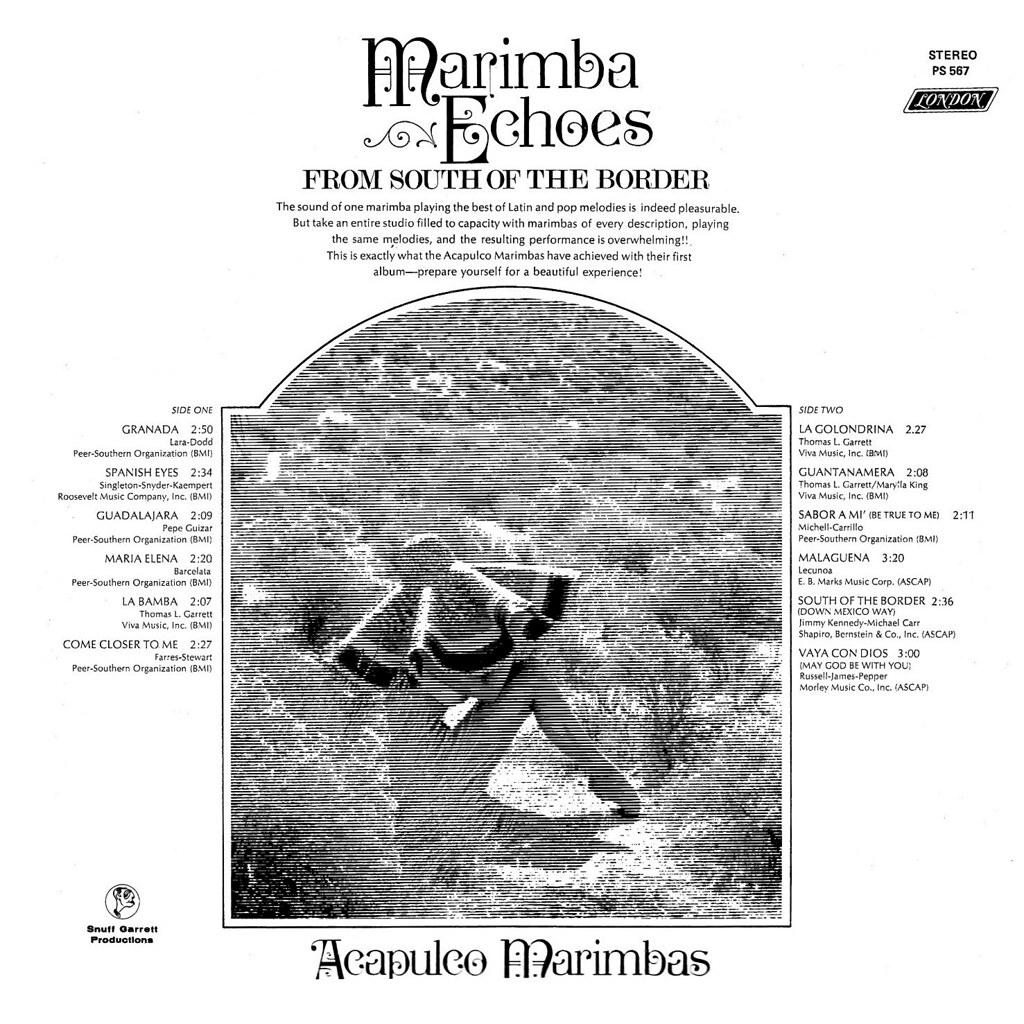 Acapulco Marimbas - Marimba Echoes