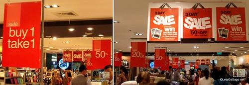 Sale! Sale! Sale!