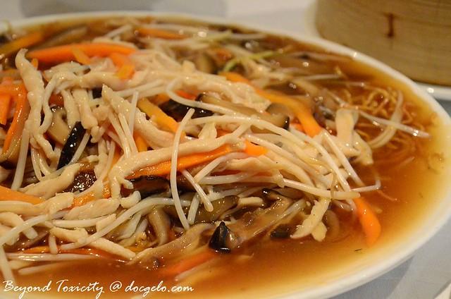 unusual noodle dish