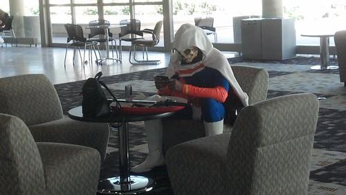 Cosplayer at Baltimore Comic-Con 2012