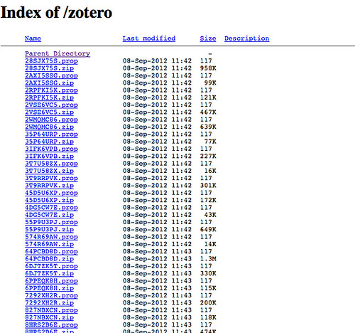 Using Zotero + WebDAV + ZotPad for Research
