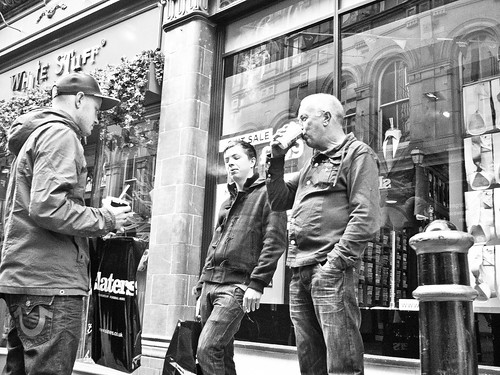 Men do shopping - Birmingham 2012