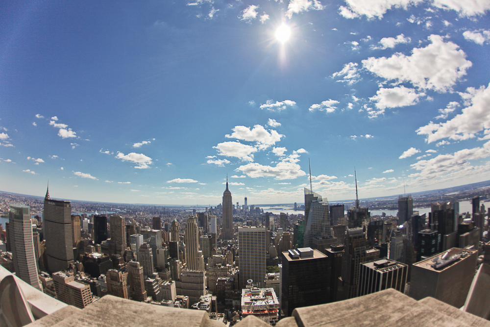 NYC Fisheye