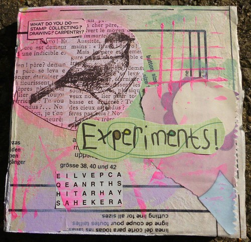 experiments front cover