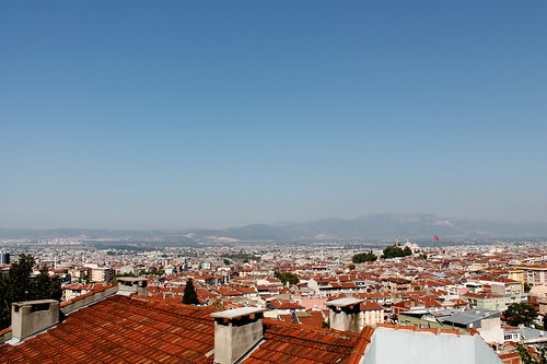 Bursa city view