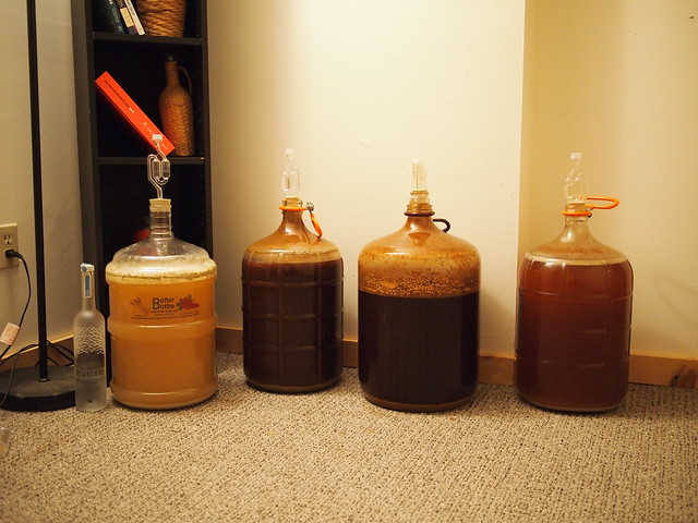 My Homebrew Fermenting