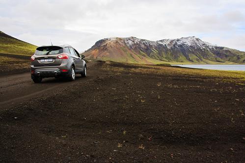 Camino a Landmannalaugar