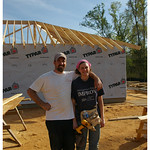Dave and Jenn on the last day - good work!