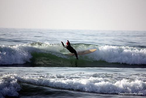 Santa Hat, X-mass Surfing, Morocco