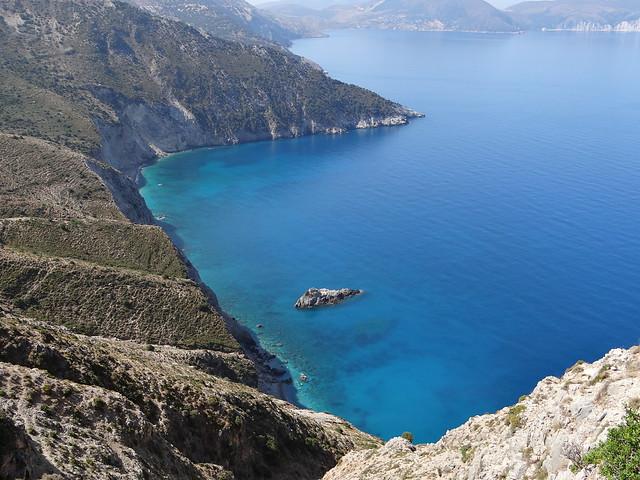 Kefalonia Greece - on road from Argostoli to Fisgarda