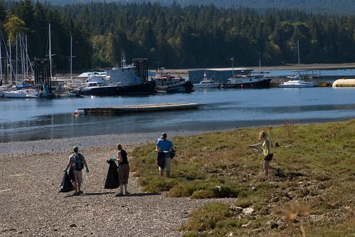 Deep Bay Shoreline Clean-up 2012 b