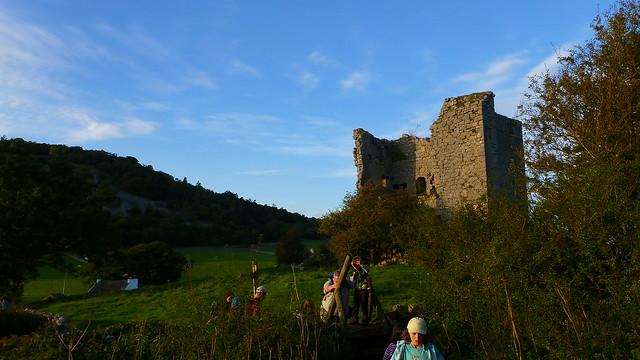 Arnside Knott, Arnside Tower