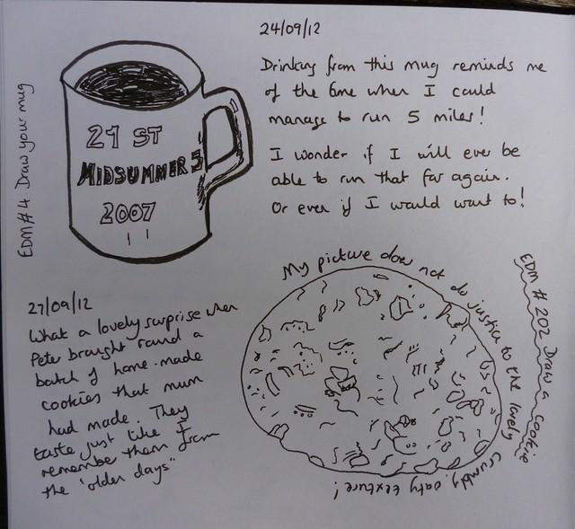 EDM # 4 Draw your mug & # 202 Draw a cookie