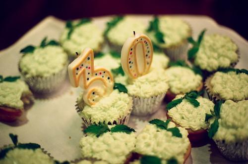 Sarah's mojito cupcakes