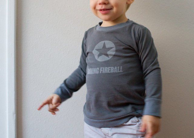 daring fireball mini tee
