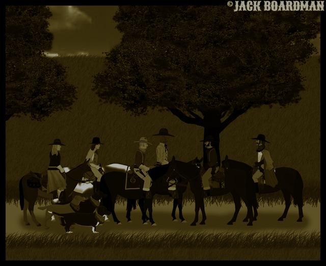Reluctant raiders ©2012 Jack Boardman