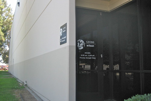Geodis Wilson Messenger Entrance