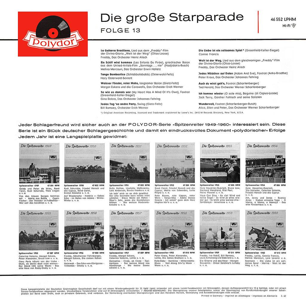 Various Artists - Die große Starparade Folge 13