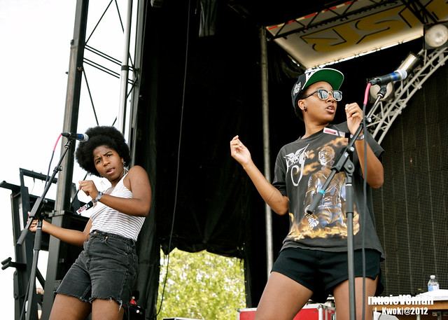 THEESatisfaction @ LouFest