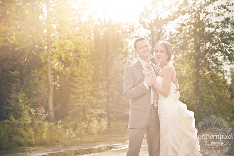 Christine & Nathan- Wedding Sunflare