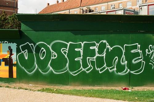 Street art in Copenhagen.