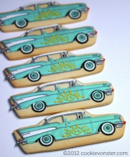 Chevy BelAir custom cookies