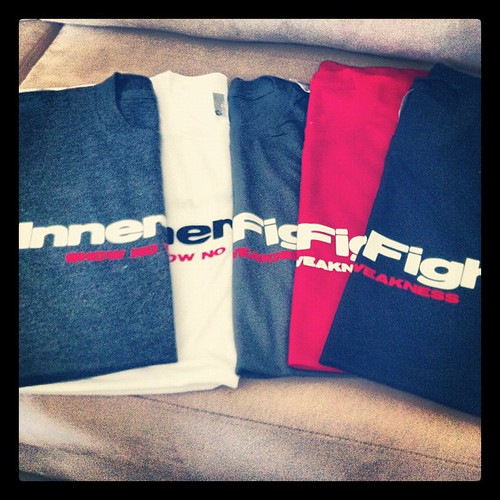 Men's t-shirts! #innerfight #apparel #fitness #tshirts